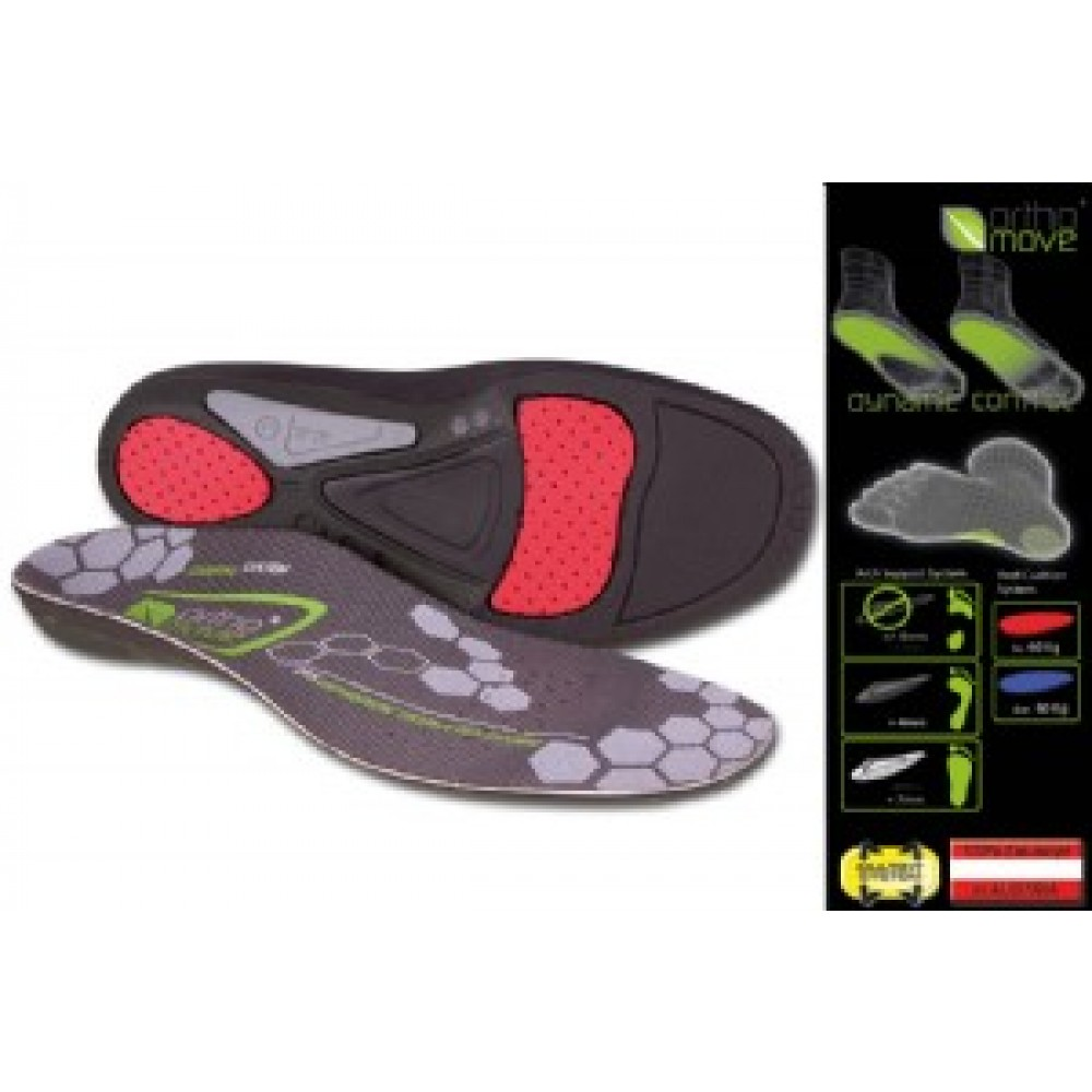 Orthomove Insoles Golf Right Hand Silver