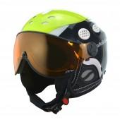 Slokker Jaky Helmet with Orange Visor 07211/01